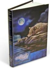 Lisa Parker *Quiet Reflections* Wolf Small Embossed Hardcover Journal