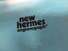 2 12 Single Line Normal Brass New Hermes Engraving Font