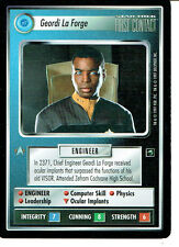 STAR TREK CCG FIRST CONTACT RARE CARD GEORDI LAFORGE