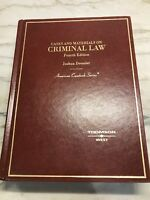 DRESSLER Cases and Materials on Criminal Law Fourth 4th Edition Book School