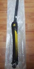 NEW CARBON Boardman Rim Brake Road Racing Bike Fork Front Black Yellow 700c