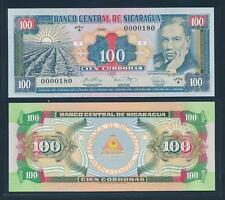 [90734] Nicaragua 1990 100 Cordobas Bank Note UNC P178a