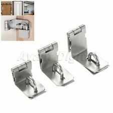 3/4/5 inch Door Hasp Latch 90 Degree Stainless Steel Safety Angle Locking Latch