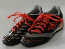 Umbro Boys Girls Black Orange Athletic Shoes Size 1 # Cleats Baseball Soccer
