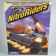 Interstate'76 Nitro Riders PC big box RARE!
