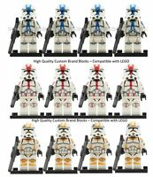 CLONE ARMY CUSTOM LEGO MINI FIGURE STAR WARS CLONE TROOPERS MULTI-QTY