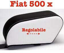Bracciolo Fiat 500 X nero e bianco Regolabile Armrest mittelarmleh Accoudoir