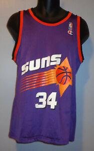 Medium/40 - Phoenix Suns #34 Charles Barkley - Vintage NBA Champion Jersey