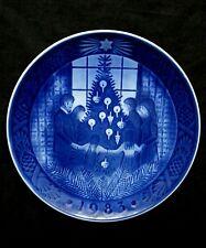 Royal Copenhagen 1983 Christmas plate B&G Denmark