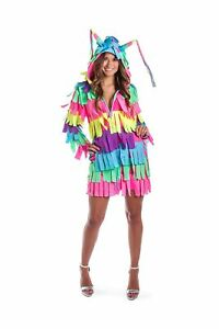 Funny Women's Adult Pinata Costume Dress - Pinata Halloween Costume Outfit