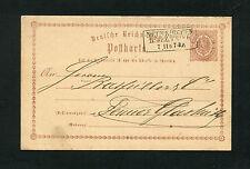 """SARRE - """"Neunkirchen-R.B. Trêves"""" pour 1873 (#1702)"""