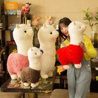 Giant Plush Alpaca Cute Large Stuffed Llama Soft Toy Small Doll Pillow Kids Gift