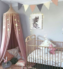 Princess Bed Hanging Dome Netting Mesh Mosquito Net Bedding Cover Chiffon Canopy