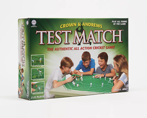 Crown & Andrews Test Match Cricket Board Game NEW