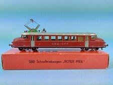 H0 Kleinbahn SBB RBe 2/4 Schnelltriebwagen Roter Pfeil  OVP