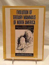 Evolution of Tertiary Mammals of North America Vol. 1 : Terrestrial...