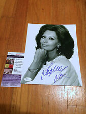SOPHIA LOREN SIGNED 8X10 AUTOGRAPH AUTHENTIC JSA COA ITALIAN ACTRESS GRAMMY C