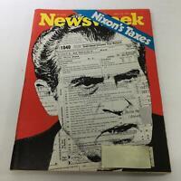 Newsweek Magazine: April 15 1974 - Richard Nixon's Taxes