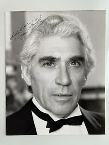 Frank Finlay - The Pianist - The Three Musketeers - Original Small HS Autograph