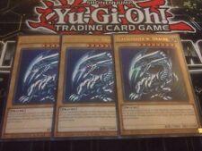 Yu-Gi-Oh! 3x BLAUÄUGIGER WEISSER DRACHE CT13-DE008 Ultra Rare Deutsch Playset