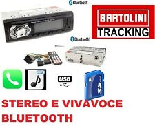 STEREO AUTO BLUETOOTH AUTORADIO VIVAVOCE RADIO FM MP3 USB AUX SD CARD  X 4