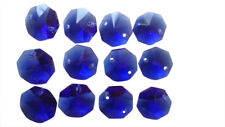 50 Cobalt Blue Octagon Chandelier Crystal Lead Crystal Beads Octagons