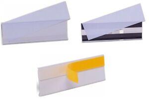 Etikettenhalter Stecketiketten selbstklebend magnetisch 100x26 200x54 50 Stück