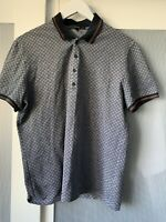 Gucci men Polo  Tshirt top see measurements for size 100% Authentic ultra rare