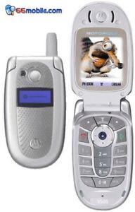 CHEAP MOTOROLA V500 FLIP MOBILE PHONE - UNLOCKED WITH NEW CHARGAR AND WARRANTY
