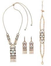 MARNI H&M  Rivet  Tassel  Necklace Set