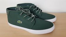 Lacoste Ampthill Unisex Chukka Green Fleece Lined Winter Boots, UK 4 EU 37