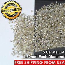 100% NATURAL Loose Rough Diamonds Fancy Brown 1.50mm Raw Real Uncut 5crts Lot
