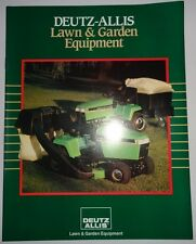 *Deutz Allis 1920 1918 917 1817 1816V 1616 1613 612 FC1316 Lawn Tractor Brochure