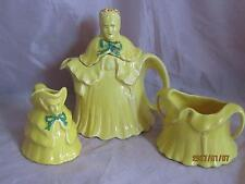 English 1930's 3 Piece Tea Set RN#827653