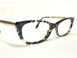Dolce & Gabbana DG Womens Tortoise & Gold Cat's Eye Eyeglasses Frames 51/16