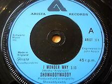 "SHOWADDYWADDY - I WONDER WHY  7"" VINYL"