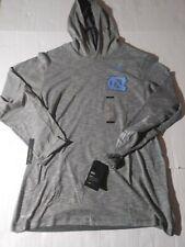 Men's Size Large Nike NCAA UNC Tar Heels Long Sleeve Hooded Shirt Style...