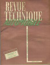 (35B)REVUE TECHNIQUE AUTOMOBILE HENRY J / Régulation Diesel / Boîte OPEL