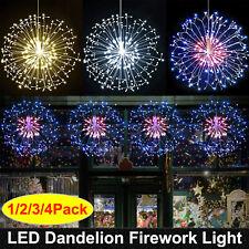 LED Feuerwerk Lichterkette Starburst Weihnachtslöwenzahn Dekolicht Wasserdicht