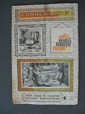 Farberware Gallery of Broiler&Rotisserie Masterpieces Manual & Recipes booklet