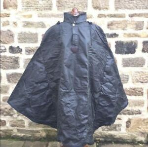 NEW Carradice Duxback Waxed Cotton Bicycle Poncho GREEN with Lined Hood 2 SIZES