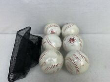 MacGregor Red Hawk 5 Softballs #92446 Parahyde Cover Solid State Core New Sealed