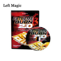 Extreme Burn 2.0 (Gimmicks DVD)Money Magic Tricks Magic Comedy Stage Magic Props