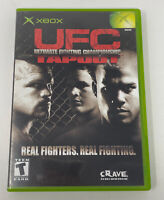 UFC: Tapout (Microsoft Xbox, 2002) Complete Tested Working