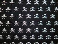 CLEARANCE Yard petits crânes de mort Tissu squelette halloween goth