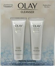 Olay Ultimate Foaming Face Cleanser with Vitamin C Facial 4.2 oz each PACK OF 2