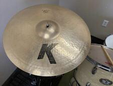"20"" Zildjian K Custom Dry Ride Cymbal - Very Sweet Sounding"