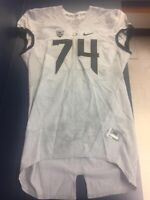 """Oregon Duck """"Salute To State"""" Game Jersey Team Issued"""