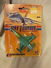 SKY THUNDER Jet Fighter Die Cast Pull Back Action Plane Aviation