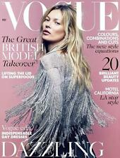 VOGUE UK 05/2014 KATE MOSS Freja Beha Erichsen JESSICA BROWN FINDLAY @NEW@